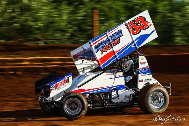 Pennsylvania Sprint Car Speedweek - Lincoln Speedway - 53 Jessie Attard