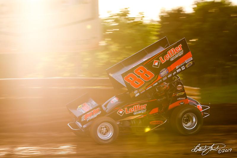 Pennsylvania Sprint Car Speedweek - Lincoln Speedway - 88 Brandon Rahmer