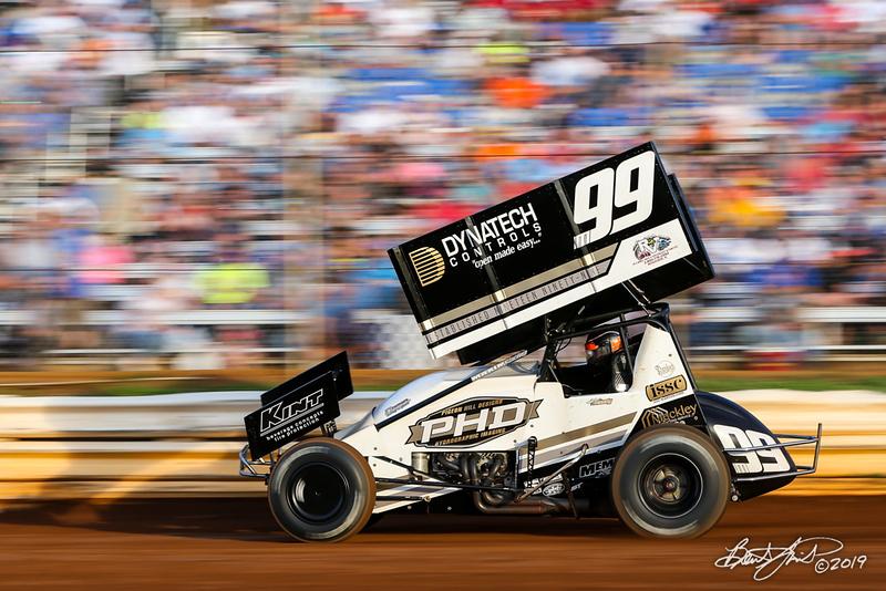 Pennsylvania Sprint Car Speedweek - Lincoln Speedway - 99M Kyle Moody