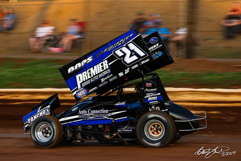 Pennsylvania Sprint Car Speedweek - Lincoln Speedway - 21 Brian Montieth