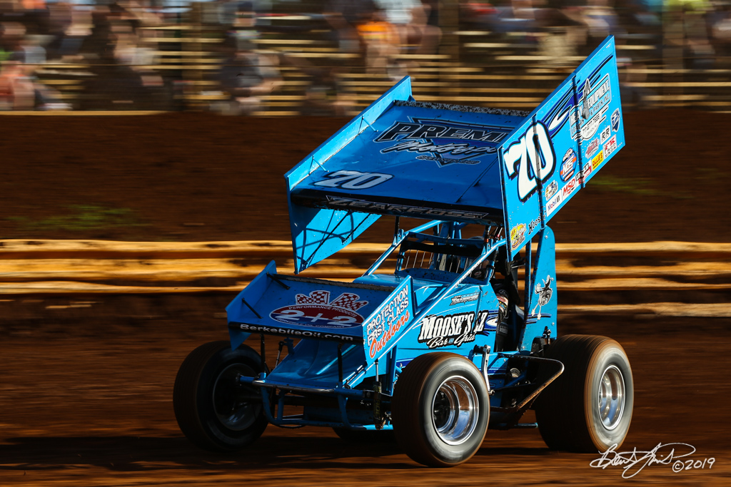 Pennsylvania Sprint Car Speedweek - Lincoln Speedway - 70 Brock Zearfoss