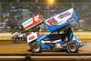 Pennsylvania Sprint Car Speedweek - Lincoln Speedway - 87 Alan Krimes, 75 Chase Dietz