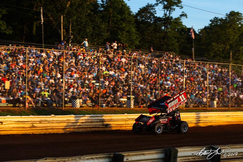 Pennsylvania Sprint Car Speedweek - Lincoln Speedway - 11 TJ Stutts