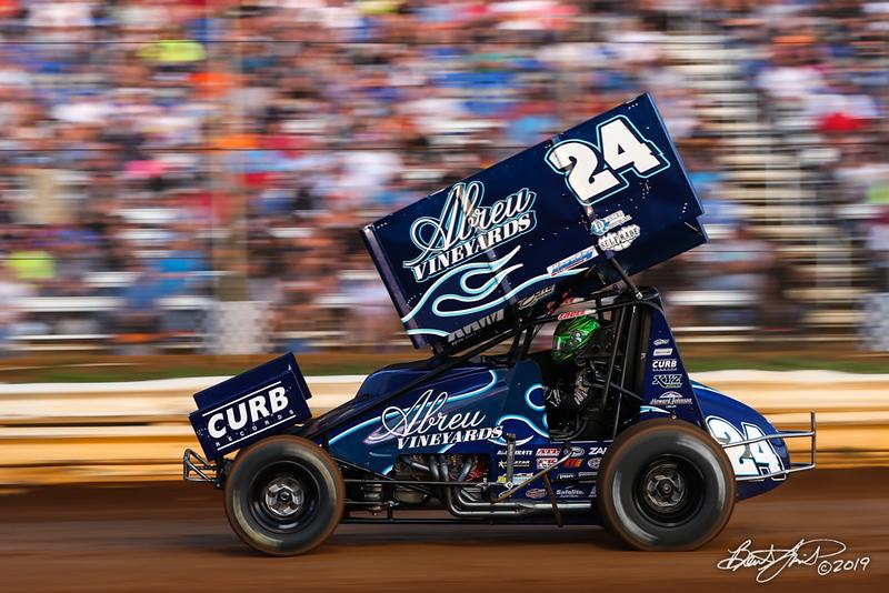Pennsylvania Sprint Car Speedweek - Lincoln Speedway - 24R Rico Abreu