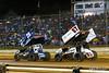 Pennsylvania Sprint Car Speedweek - Lincoln Speedway - 26 Cory Eliason, 57 Kyle Larson