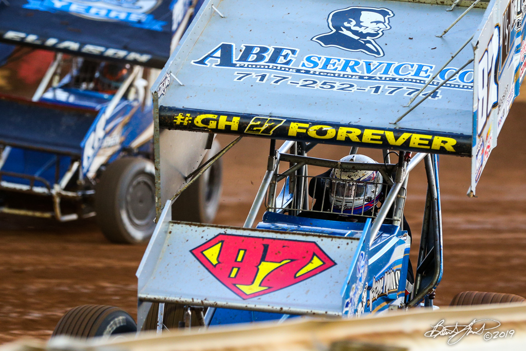 Pennsylvania Sprint Car Speedweek - Lincoln Speedway - 87 Alan Krimes
