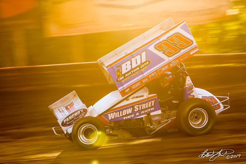 Pennsylvania Sprint Car Speedweek - Lincoln Speedway - 33 Jared Esh