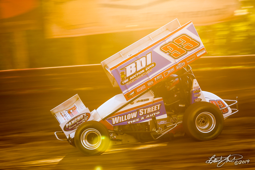 Pennsylvania Sprint Car Speedweek - Lincoln Speedway - 33 Jared Esh