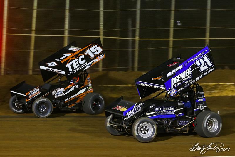 Lincoln Speedway - 15 Adam Wilt, 21 Brian Montieth