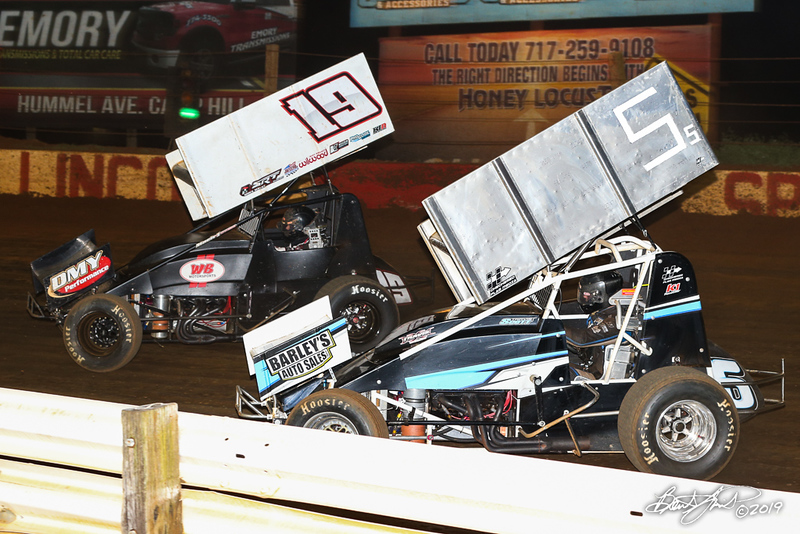 360/358 Challenge- Capitol Renegade United Racing Company - Lincoln Speedway - 19 Troy Wagaman, 5S Travis Scott