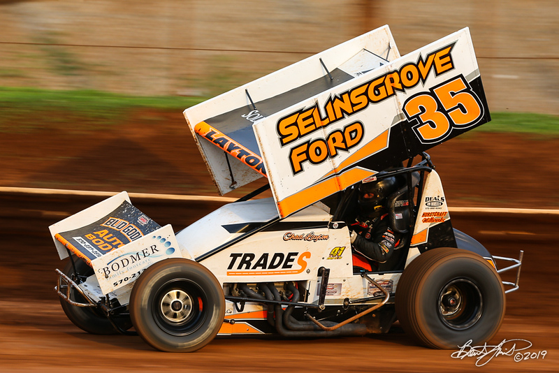 360/358 Challenge- Capitol Renegade United Racing Company - Lincoln Speedway - 35 Chad Layton