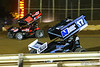 Lincoln Speedway - 88 Brandon Rahmer, 17 Cole Young