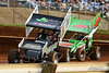 360/358 Challenge- Capitol Renegade United Racing Company - Lincoln Speedway - 89 Ashley Cappetta, 47 Adam Carberry
