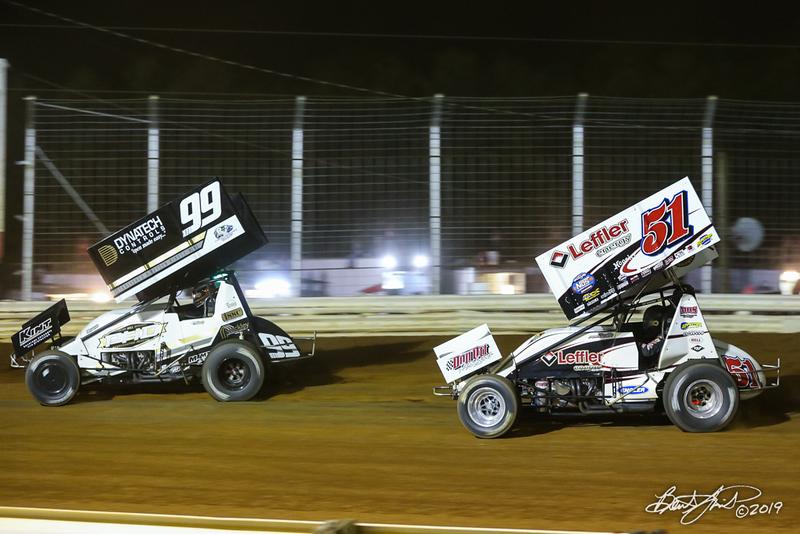 Lincoln Speedway - 99M Kyle Moody, 51 Freddie Rahmer Jr.