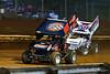 Lincoln Speedway - 88 Brandon Rahmer, 59 Jim Siegel