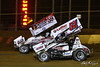 Lincoln Speedway - 59 Jim Siegel, 51 Freddie Rahmer Jr.