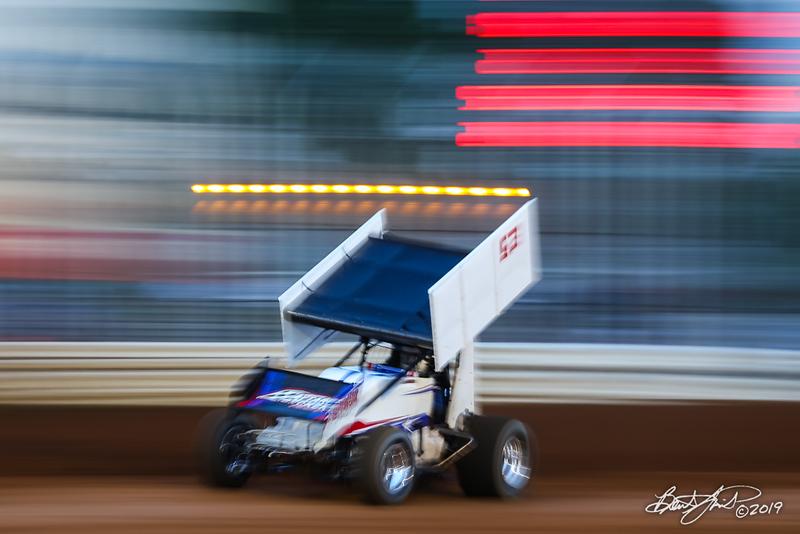 Lincoln Speedway - 53 Jessie Attard