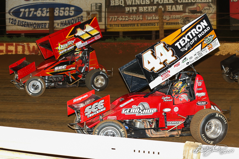 360/358 Challenge- Capitol Renegade United Racing Company - Lincoln Speedway - 11 Ryan Stillwaggon, 44 Dylan Norris
