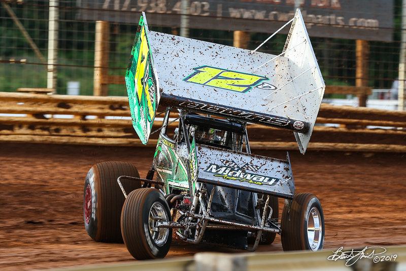 360/358 Challenge- Capitol Renegade United Racing Company - Lincoln Speedway - 12D Steve Downs