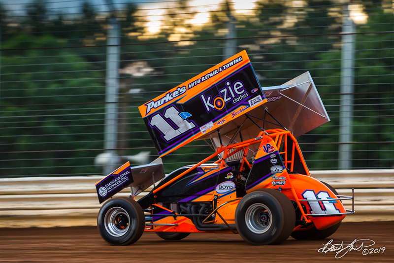 360/358 Challenge- Capitol Renegade United Racing Company - Lincoln Speedway - 11A Austin Bishop