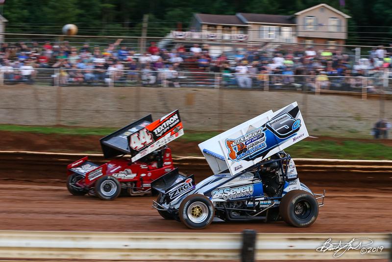 360/358 Challenge- Capitol Renegade United Racing Company - Lincoln Speedway - 44 Dylan Norris, 5Q Ryan Quackenbush