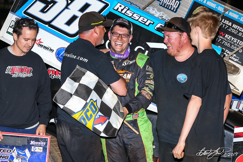 360/358 Challenge- Capitol Renegade United Racing Company - Lincoln Speedway - 58 Jeff Halligan