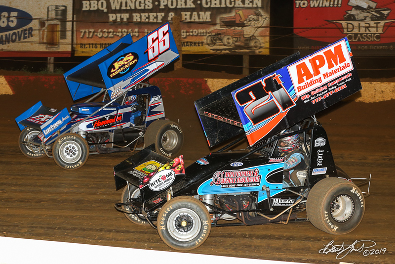 360/358 Challenge- Capitol Renegade United Racing Company - Lincoln Speedway - 66 Doug Hammaker, 21T Scott Fisher