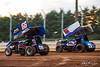 360/358 Challenge- Capitol Renegade United Racing Company - Lincoln Speedway - 66 Doug Hammaker, 5 Tyler Ross