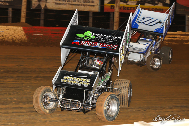 360/358 Challenge- Capitol Renegade United Racing Company - Lincoln Speedway - 89 Ashley Cappetta, 10X Freddie Rahmer Jr.