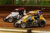 Lincoln Speedway - 12 Steve Drevicki, 22S Reed Salony