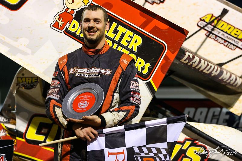 Lincoln Speedway - 55K Robbie Kendall