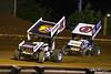 Lincoln Speedway - 51 Freddie Rahmer Jr., 48 Danny Dietrich