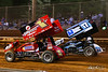 Lincoln Speedway - 1X Chad Trout, 17 Colton Young