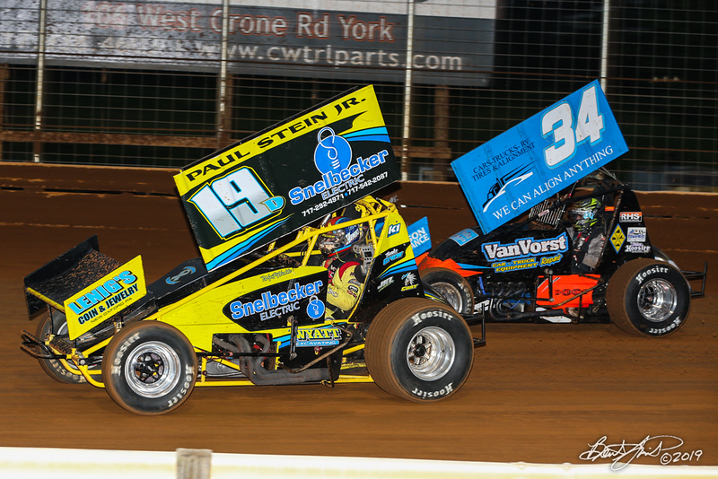Lincoln Speedway - 19D Wyatt Hinkle, 34 Mark VanVorst