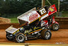 Lincoln Speedway - 72 Ryan Smith, 1X Chad Trout