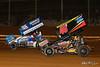 Lincoln Speedway - 48 Danny Dietrich, 49H Bradley Howard