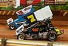 Lincoln Speedway - 75 Chase Dietz, 7 Trey Hivner