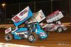 Lincoln Speedway - 75 Chase Dietz, 59 Jim Siegel