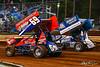 Lincoln Speedway - 69 Tim Glatfelter, 48 Danny Dietrich