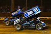 Lincoln Speedway - 2W Glenndon Forsythe, 17 Colton Young