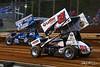 Lincoln Speedway - 87 Alan Krimes, 51 Freddie Rahmer Jr.