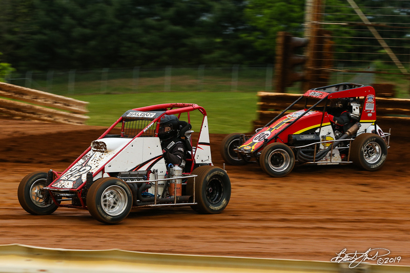 Lincoln Speedway - 22S Reed Salony, 86 Mark Lowery