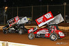 Lincoln Speedway - 45 Jeff Halligan, 66a Cody Fletcher