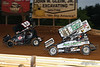 Lincoln Speedway - 19 Troy Wagaman, 89 Ashley Cappetta