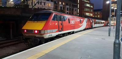 91104 seen at Kings Cross
