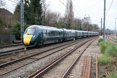 800313 1104/3G29 Stoke Gifford-Paddington passes Acton Mainline