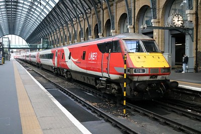 82202_91102 'City of York' 1230/1S17 Kings Cross-Edinburgh