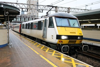 90002 'Eastern Daily Press 1870-2010' 0958/1P19 Norwich-Liverpool Street at Stratford