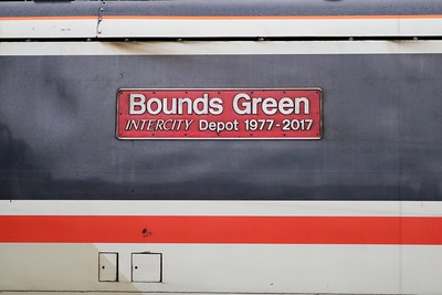 91119 'Bounds Green Intercity Depot 1977-2017'