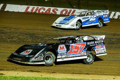 Mike Marlar (157) and Rick Eckert (2)